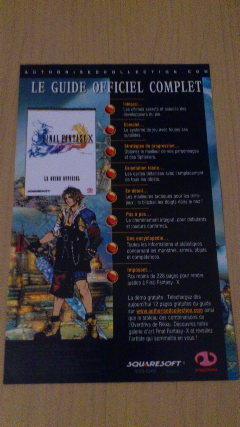 Gravures Final Fantasy Origins Dsc_0476