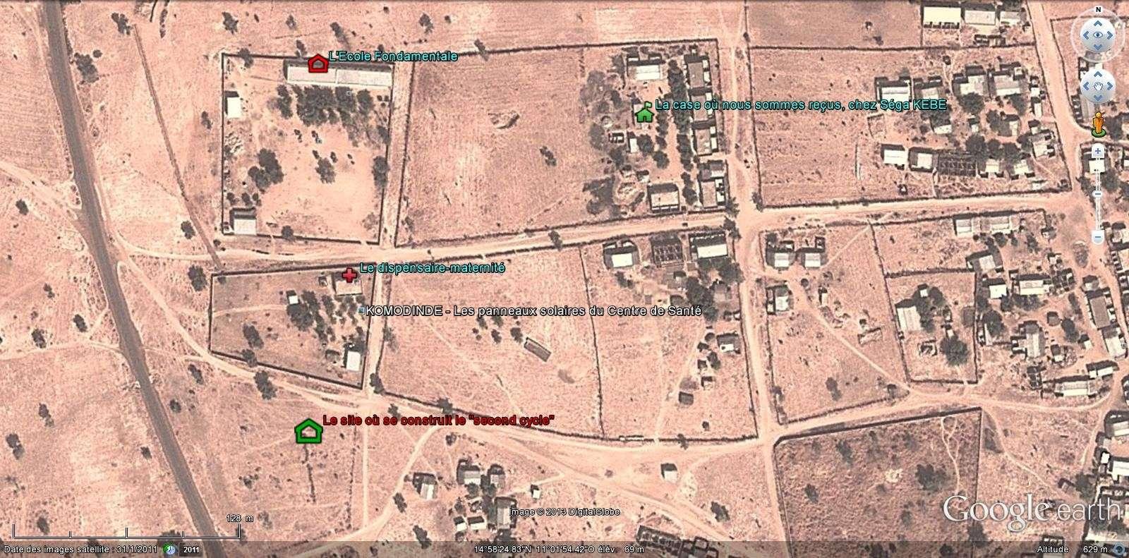[Désormais visible sur Google-Earth] - Le collège (second cycle) de Komodindé - Mali Komo10