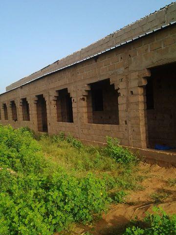 [Désormais visible sur Google-Earth] - Le collège (second cycle) de Komodindé - Mali Zcoko10