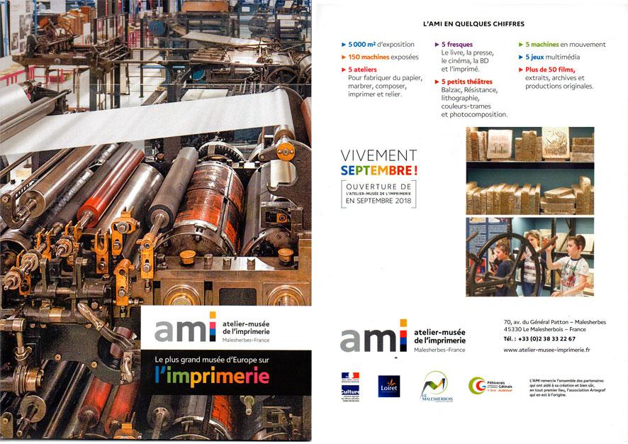 ouverture du Musée de l'imprimerie Montag16