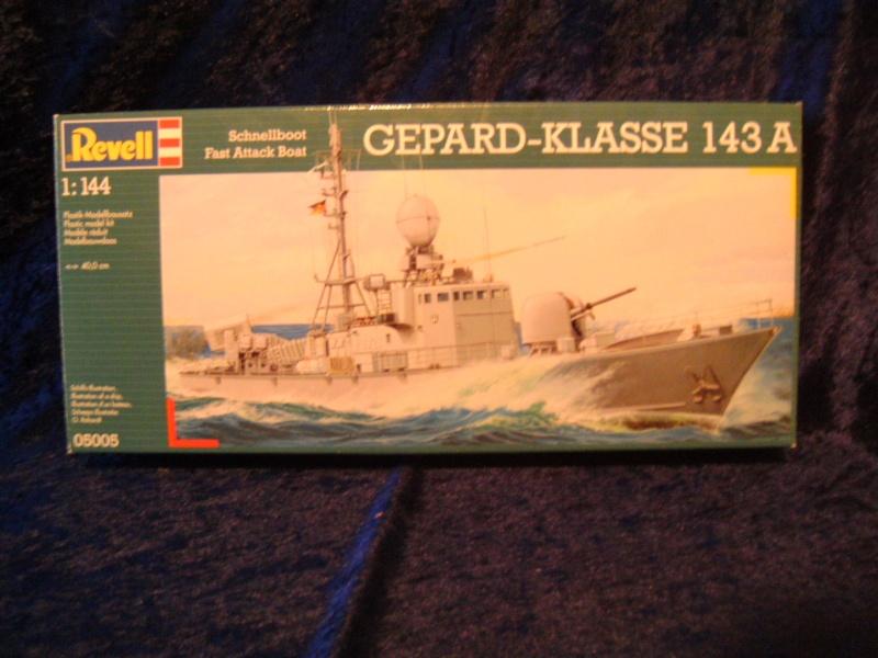 Schnellboot S76 Frettchen der GEPARD - Klasse 143 A von Revell in 1:144 Pict0012