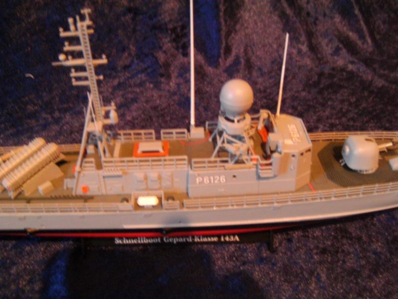 Schnellboot S76 Frettchen der GEPARD - Klasse 143 A von Revell in 1:144 Pict0020