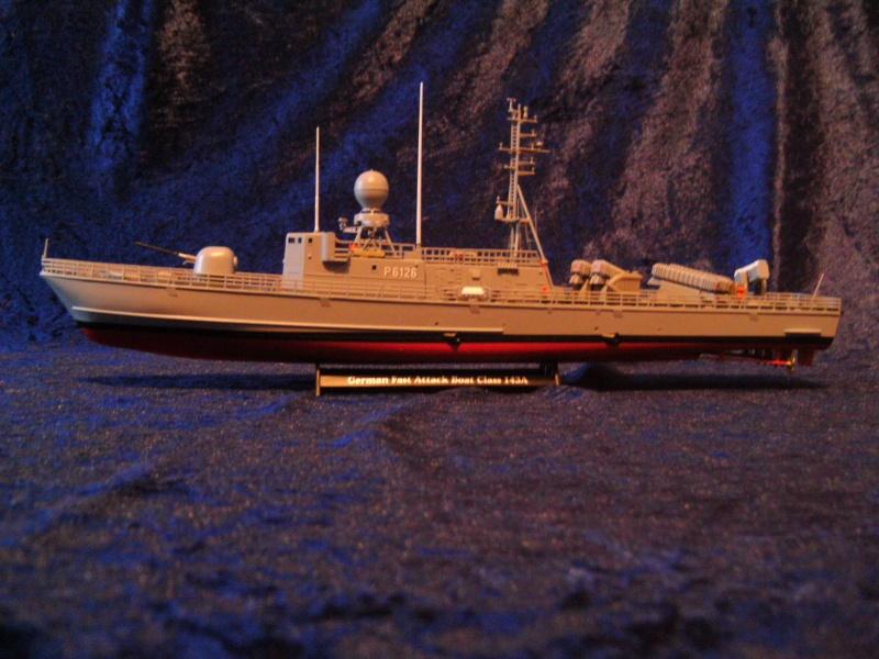 Schnellboot S76 Frettchen der GEPARD - Klasse 143 A von Revell in 1:144 Pict0024