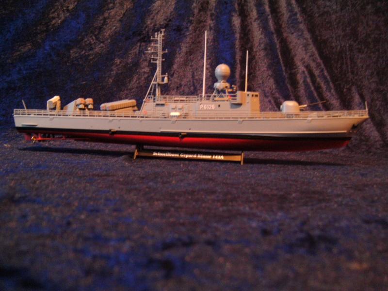 Schnellboot S76 Frettchen der GEPARD - Klasse 143 A von Revell in 1:144 Pict0025