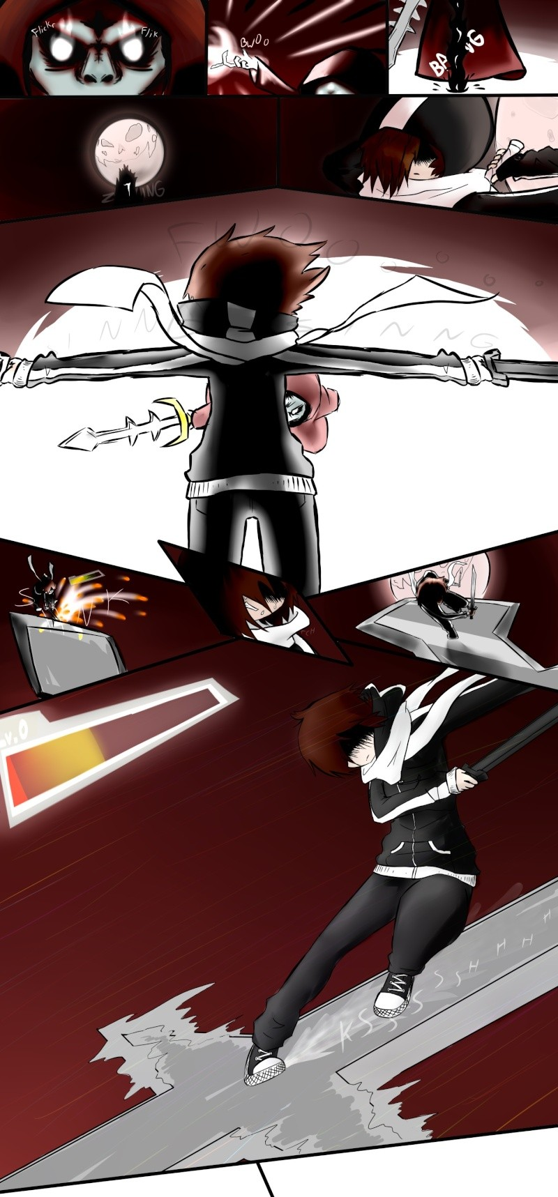SANCTUM - [Twin Blade Zero Side Story] 4k4wd11