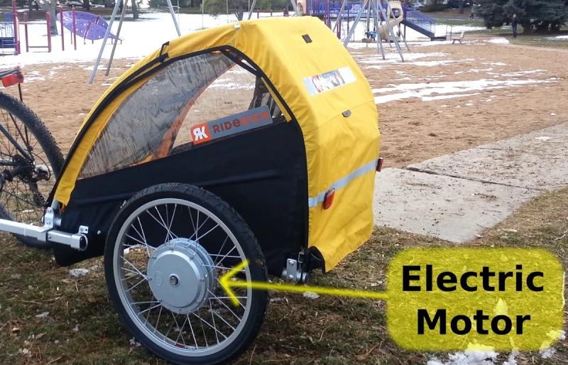 Электробагажник-велотолкач! 20120010