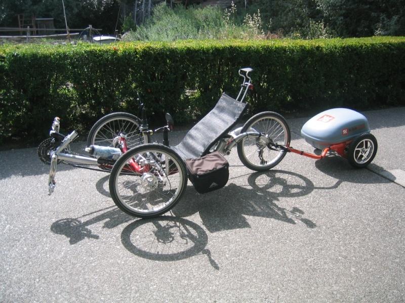 Электробагажник-велотолкач! Rec-ta10