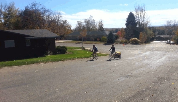 Электробагажник-велотолкач! Rkctpa10