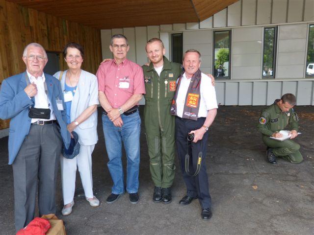 26 juin 2013 une délégation du Mémorial a été reçue sur la base de Mont de Marsan Dalaga10