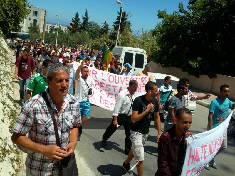 La marche pour la liberté de conscience et de croyance à Aokas (Bejaïa) le 03 août 2013 115