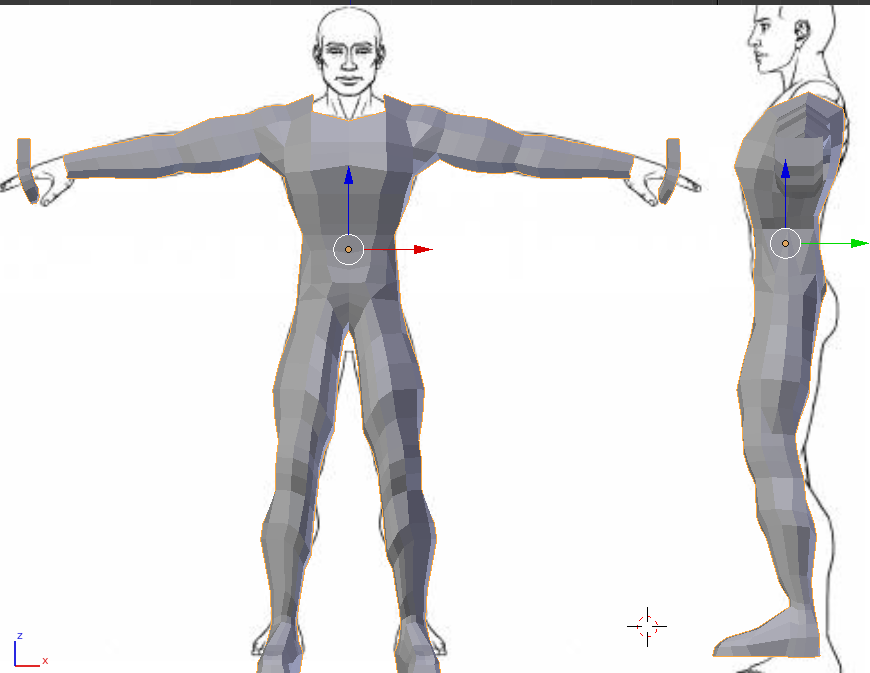 Generic Character Model for Demo Charmo11