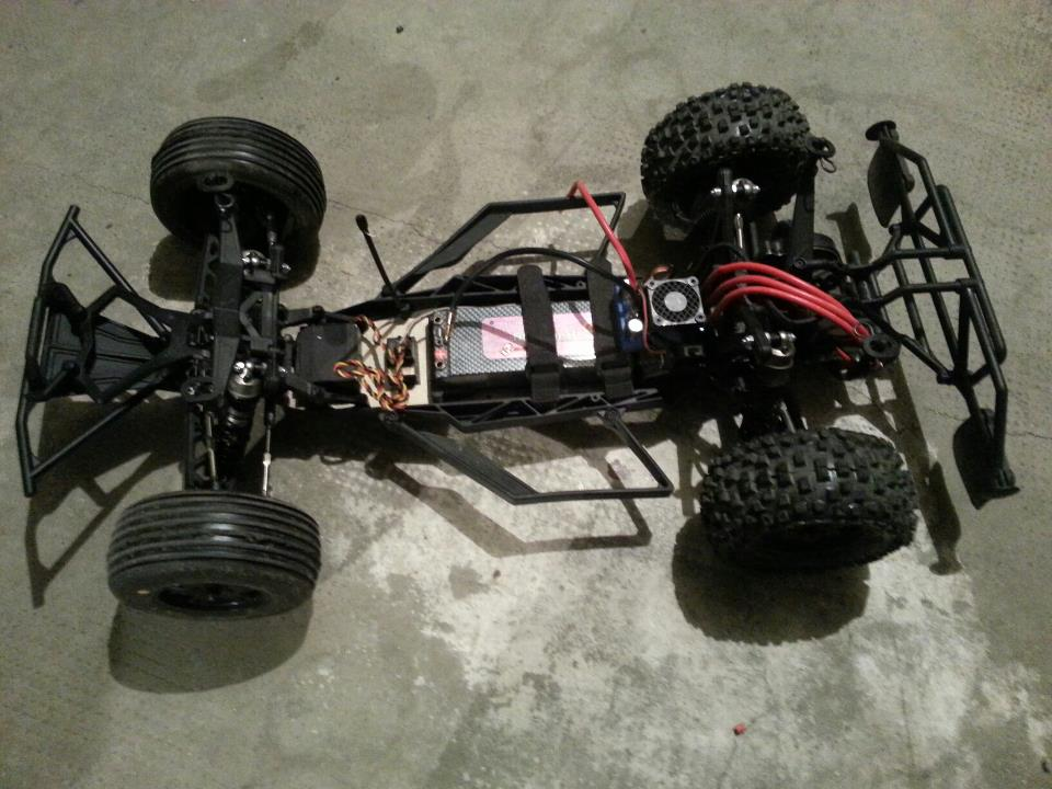 1/10 22 2WD race buggy kit TLR0022  52165910