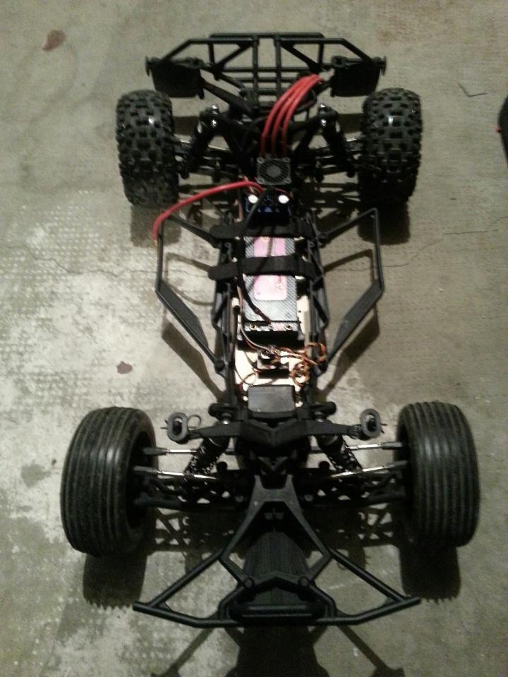 1/10 22 2WD race buggy kit TLR0022  54075810