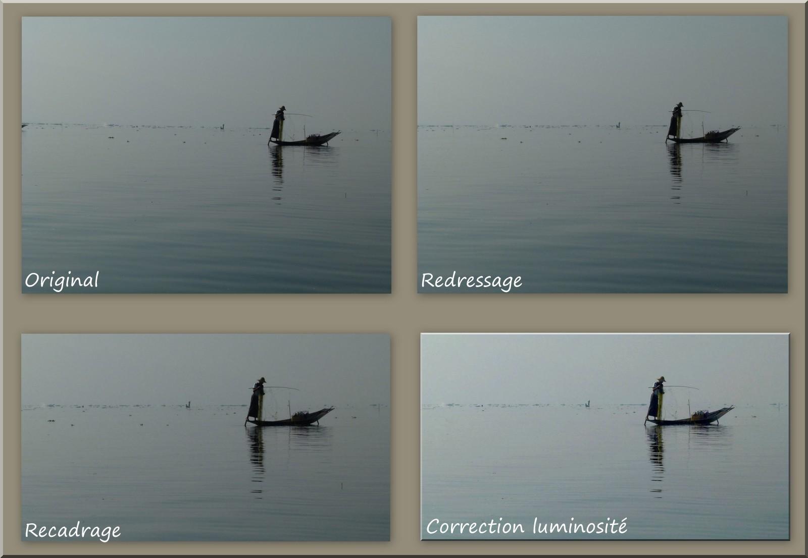 tjs sur le lac Inle et contre jour Expres17