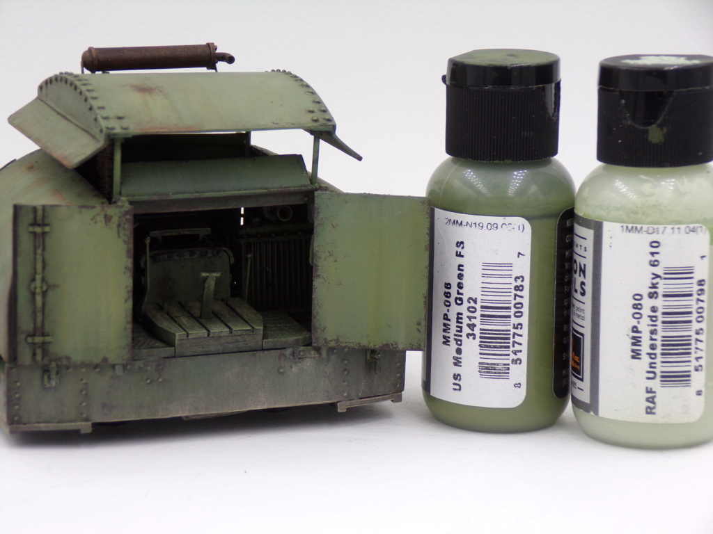 Simplex 40HP Protected WW1 - 1/35 Resicast 112_2910