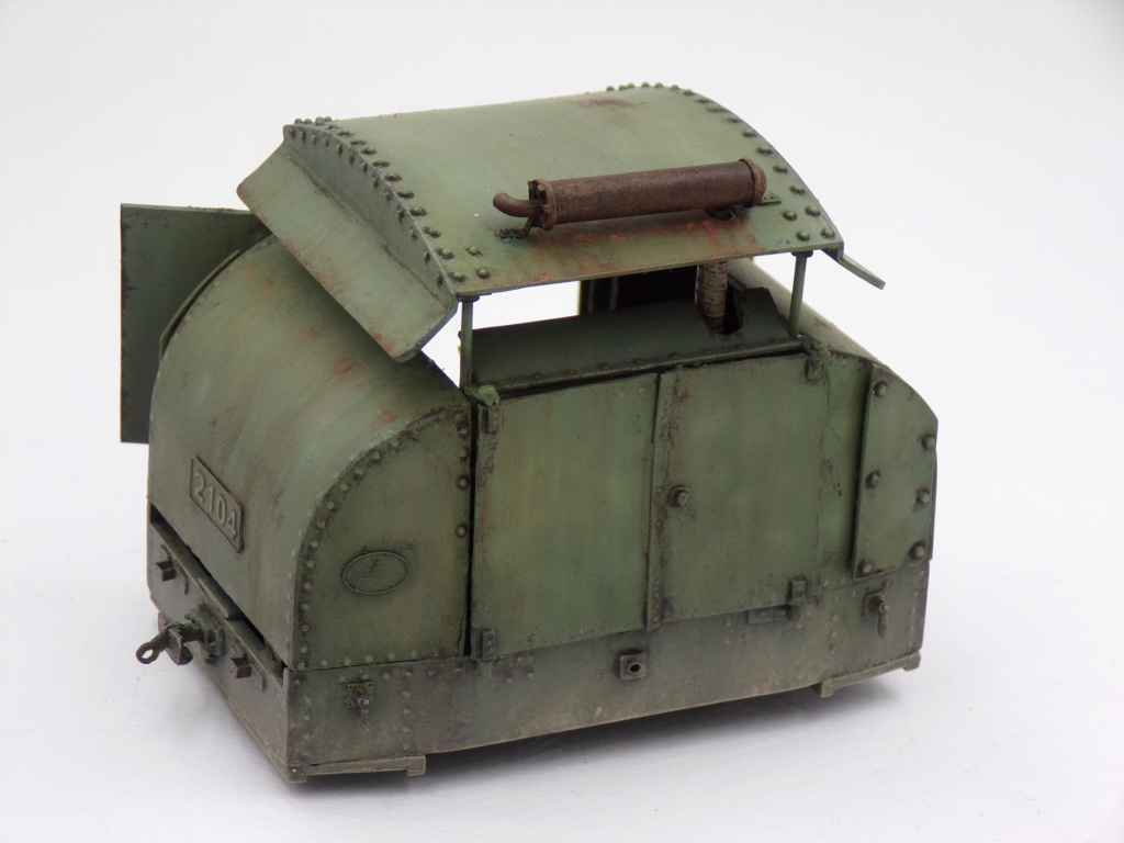 Simplex 40HP Protected WW1 - 1/35 Resicast 112_2917