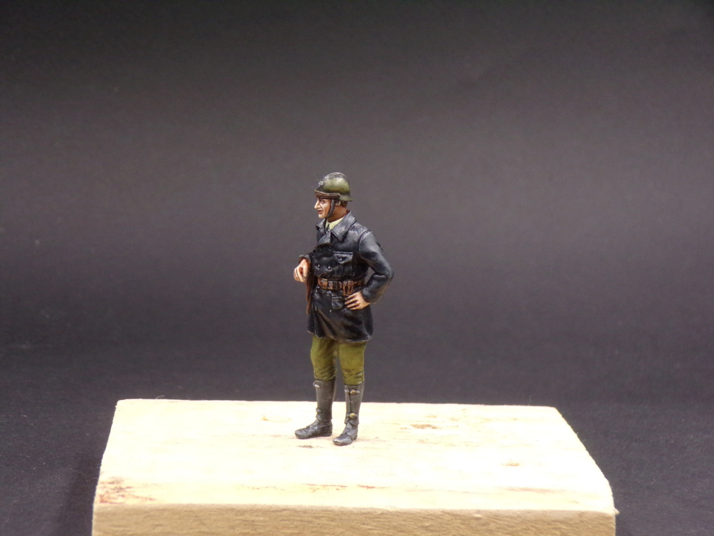 Tankistes et gendarme belges 1940 - Resicast 1/35 112_3017