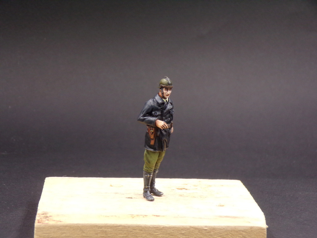 Tankistes et gendarme belges 1940 - Resicast 1/35 112_3018