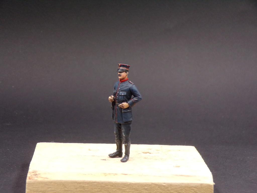 Tankistes et gendarme belges 1940 - Resicast 1/35 112_3027