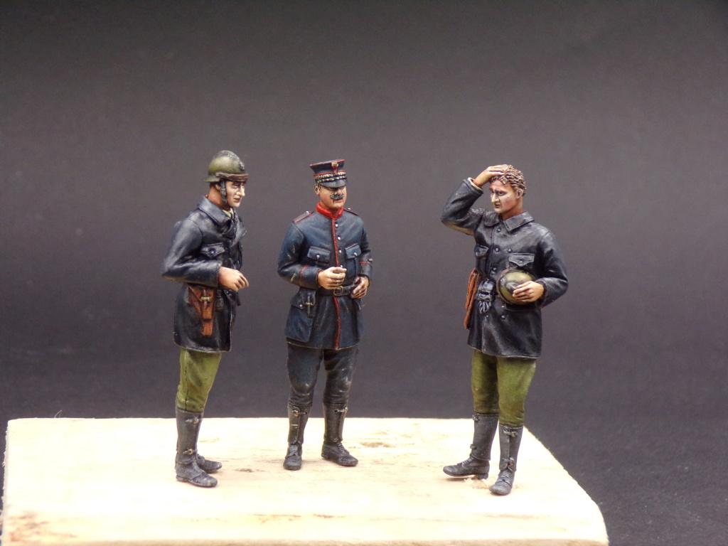 Tankistes et gendarme belges 1940 - Resicast 1/35 112_3028