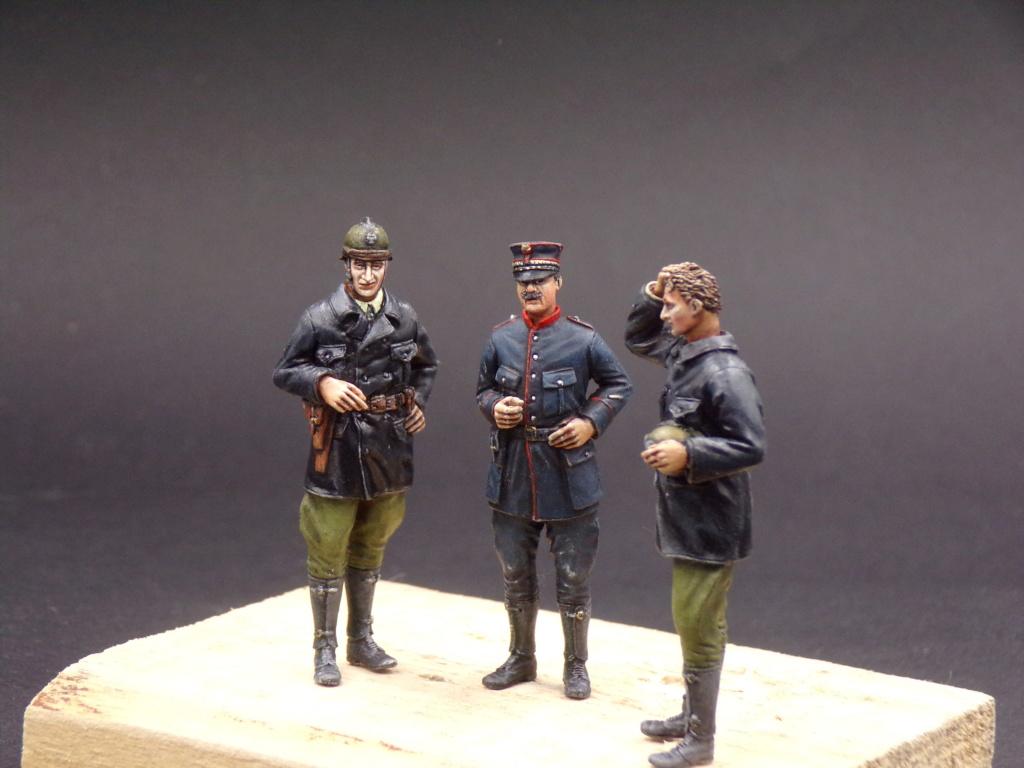 Tankistes et gendarme belges 1940 - Resicast 1/35 112_3029