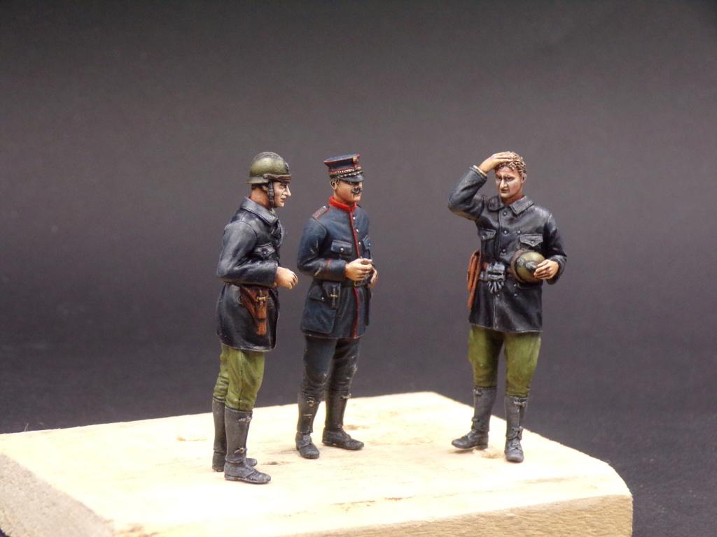 Tankistes et gendarme belges 1940 - Resicast 1/35 112_3030