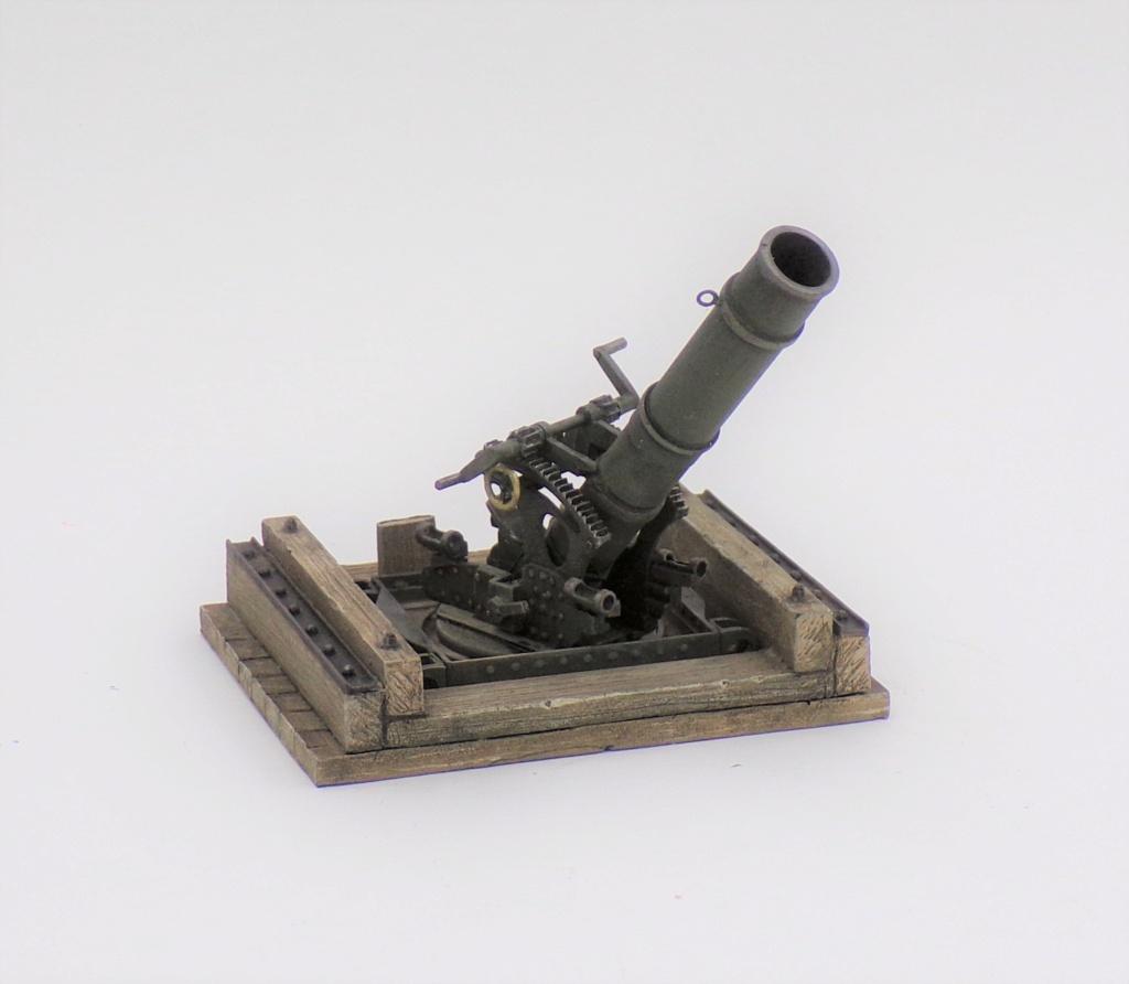 Fire Mortar Base - Resicast 1/35 112_3115
