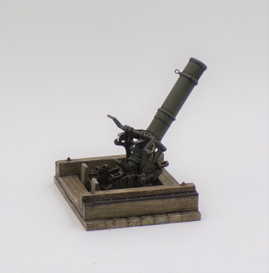 Fire Mortar Base - Resicast 1/35 112_3116