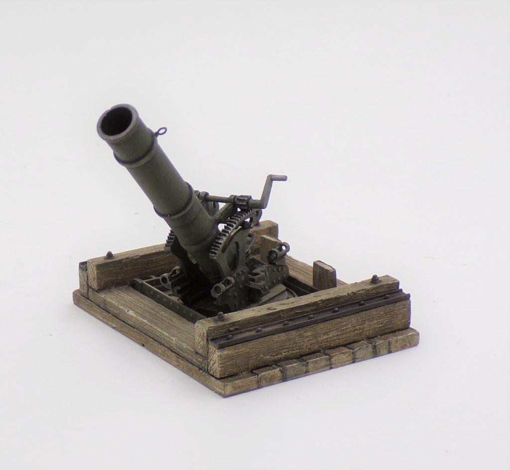 Fire Mortar Base - Resicast 1/35 112_3117