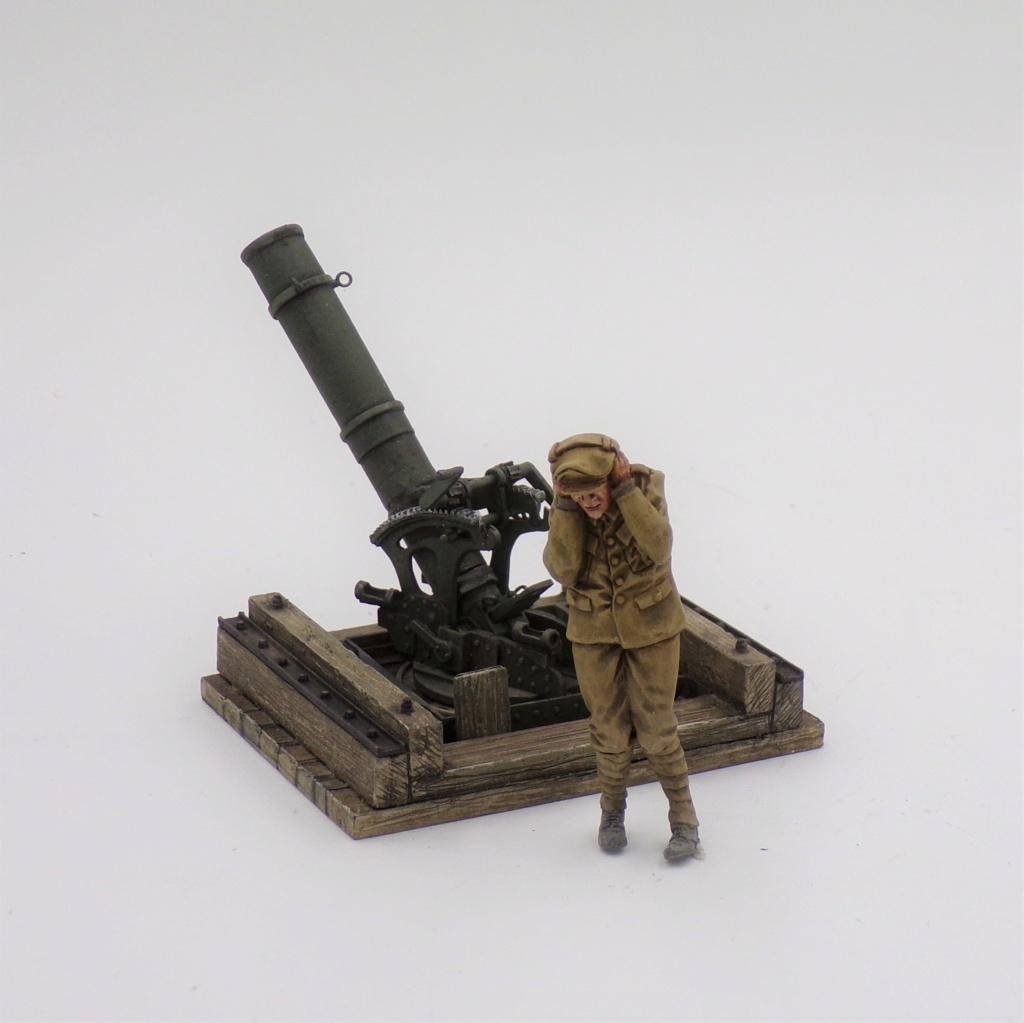 Fire Mortar Base - Resicast 1/35 112_3118