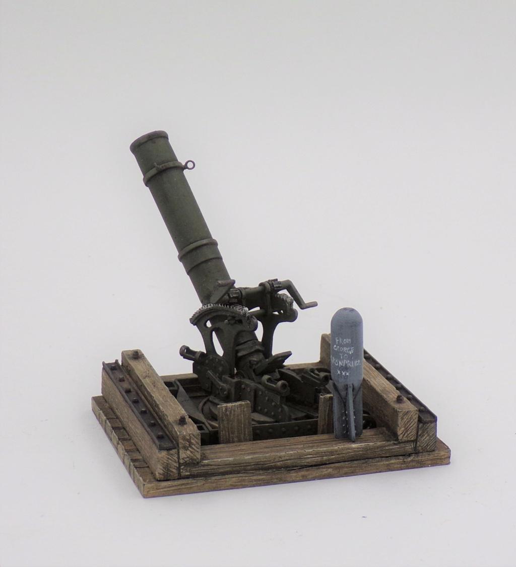 Fire Mortar Base - Resicast 1/35 112_3119