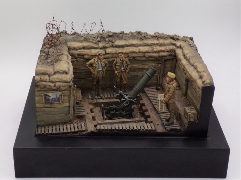 Fire Mortar Base - Resicast 1/35 112_3427