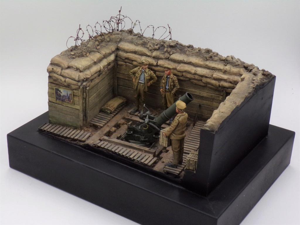 Fire Mortar Base - Resicast 1/35 112_3429