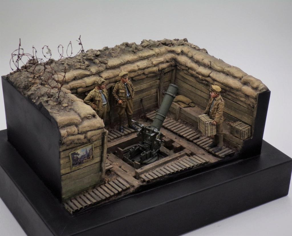 Fire Mortar Base - Resicast 1/35 112_3430