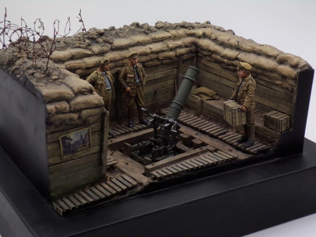 Fire Mortar Base - Resicast 1/35 112_3431