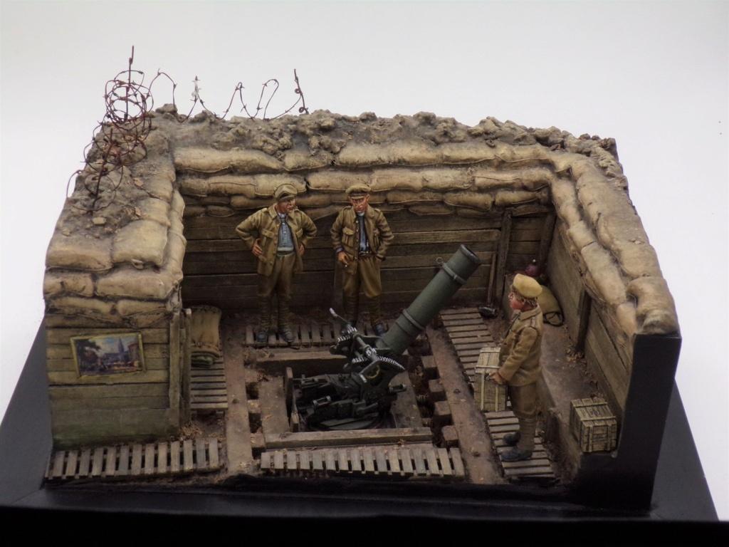 Fire Mortar Base - Resicast 1/35 112_3432