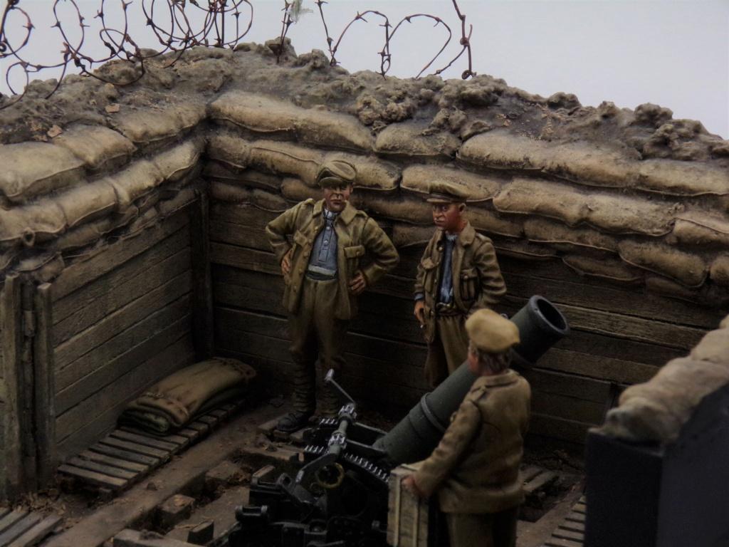 Fire Mortar Base - Resicast 1/35 112_3434