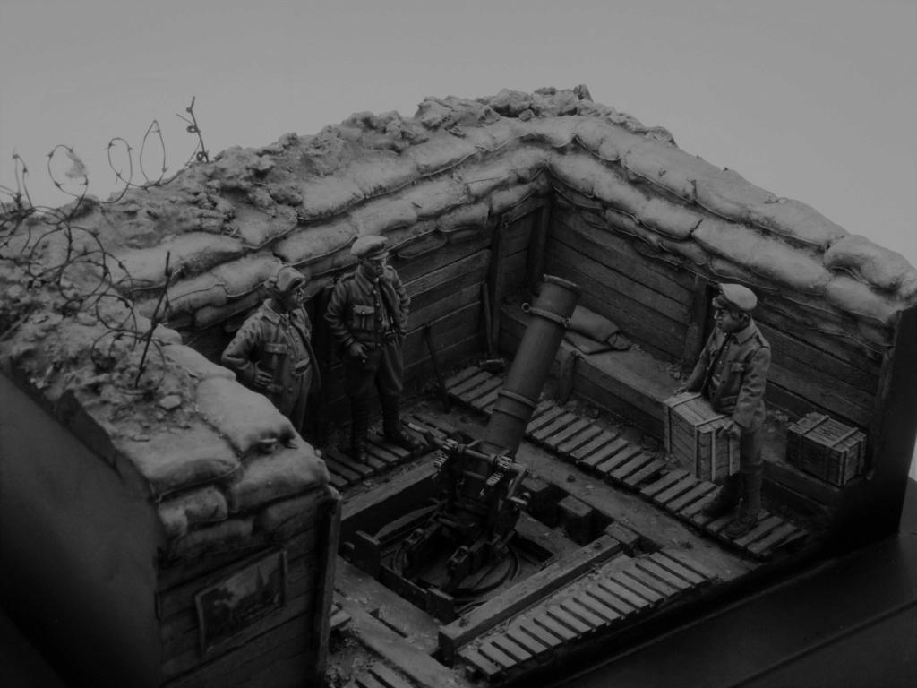 Fire Mortar Base - Resicast 1/35 112_3436