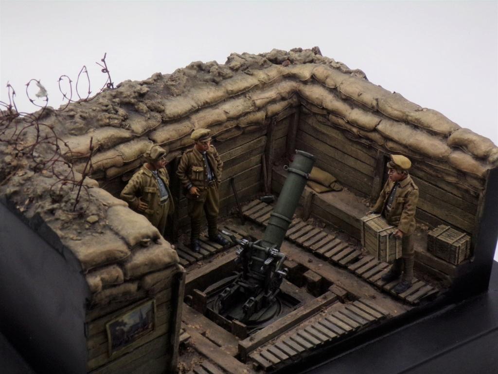 Fire Mortar Base - Resicast 1/35 112_3437
