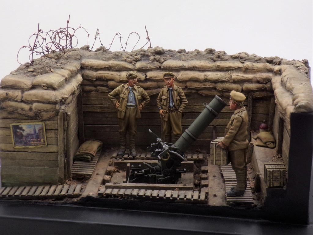 Fire Mortar Base - Resicast 1/35 112_3438