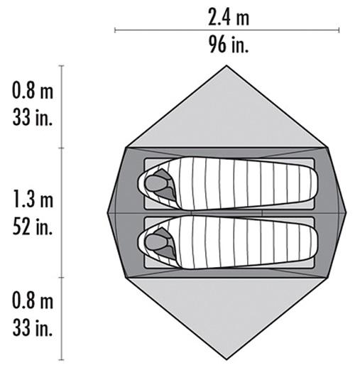 MSR Hoop - Tente 4 saisons 82067010