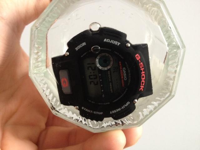 casio - HydroMDP : réalisation d'une Casio G-Shock équipression - Page 12 Avantp10