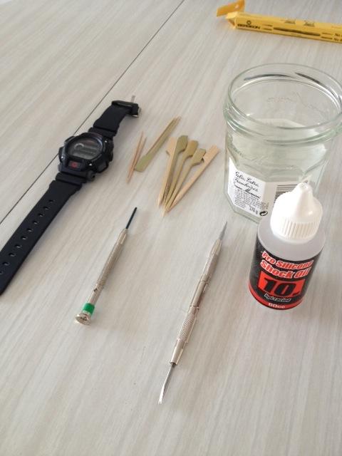 casio - HydroMDP : réalisation d'une Casio G-Shock équipression - Page 12 Deibut12