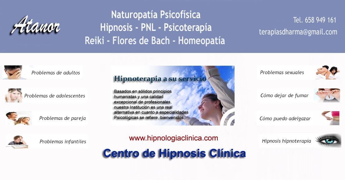 Psicología Hipnosis Hipnoterapia Naturopatia Flores de Bach Reiki