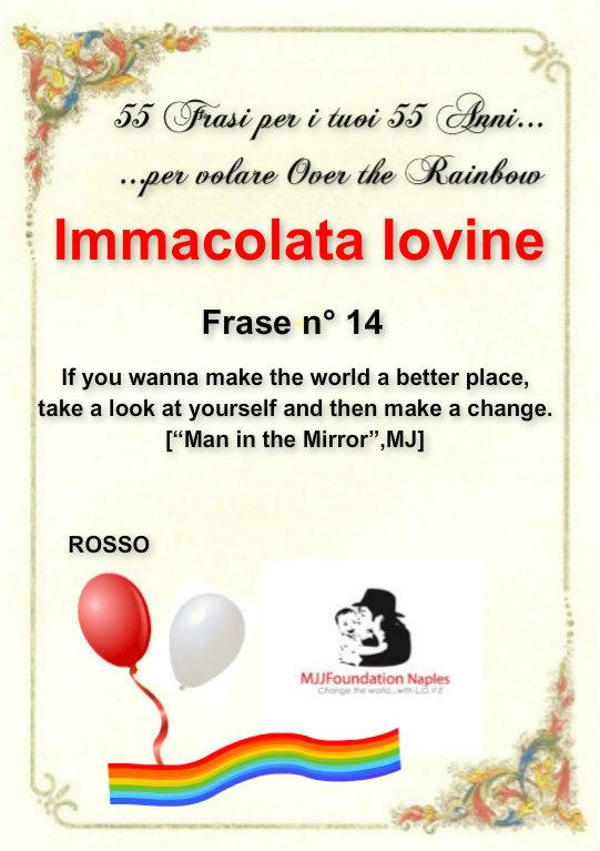 55 frasi per i tuoi 55 anni...per volare Over the Rainbow Immaco10