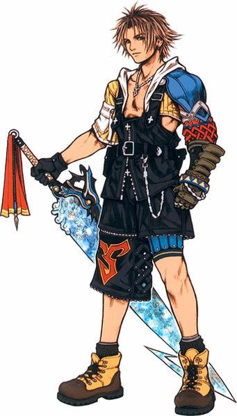 Ps vita Slim Final Fantasy X/X-2 Jap  Tidus_10