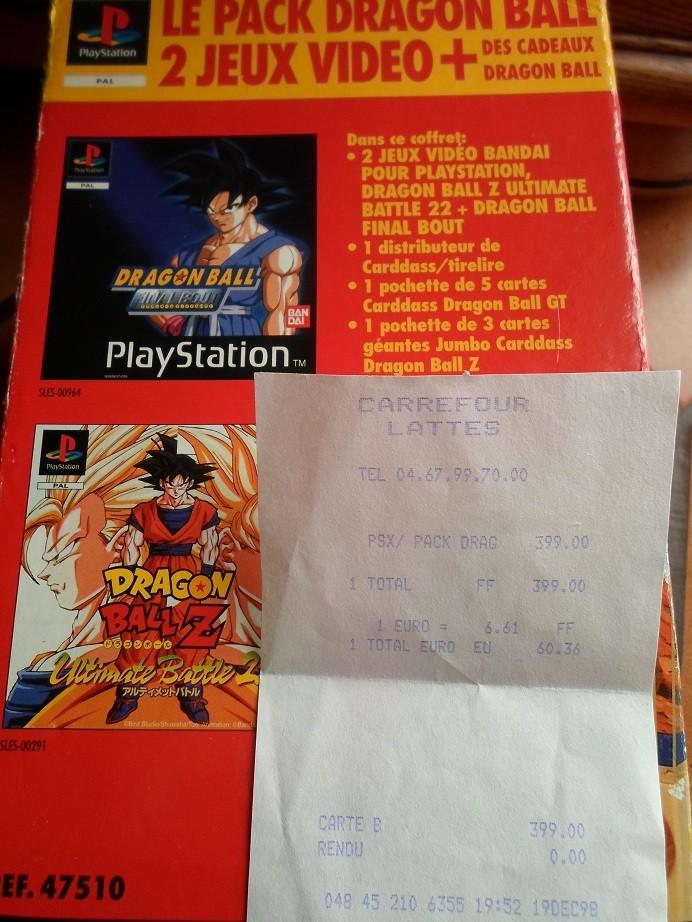 (Estim) Coffret Dragon Ball Z PS1 Pack exclusif Bandai Sam_0011