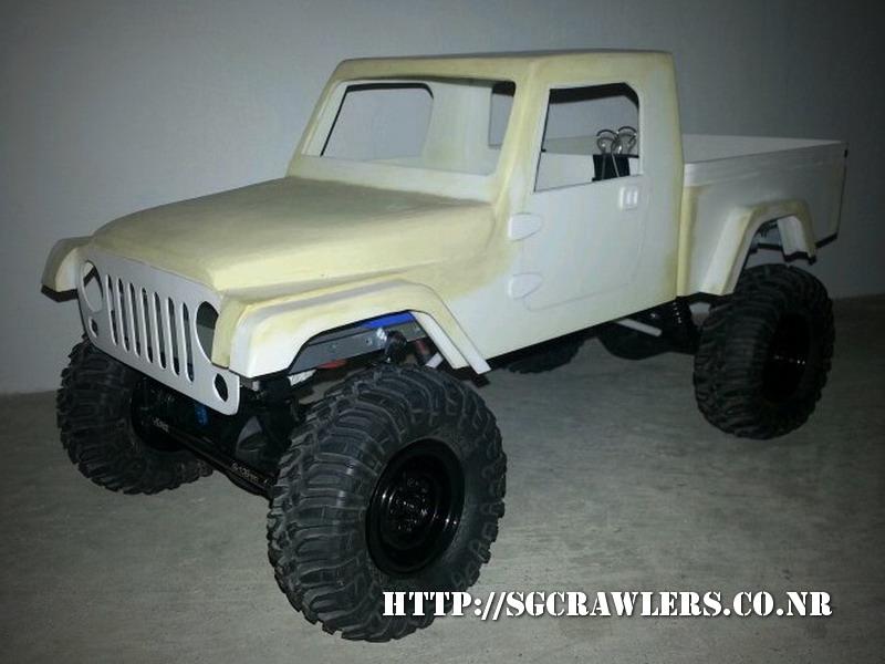 brute - Boolean21's AEV Jeep Brute 1/10 scratch build - Page 2 20130333