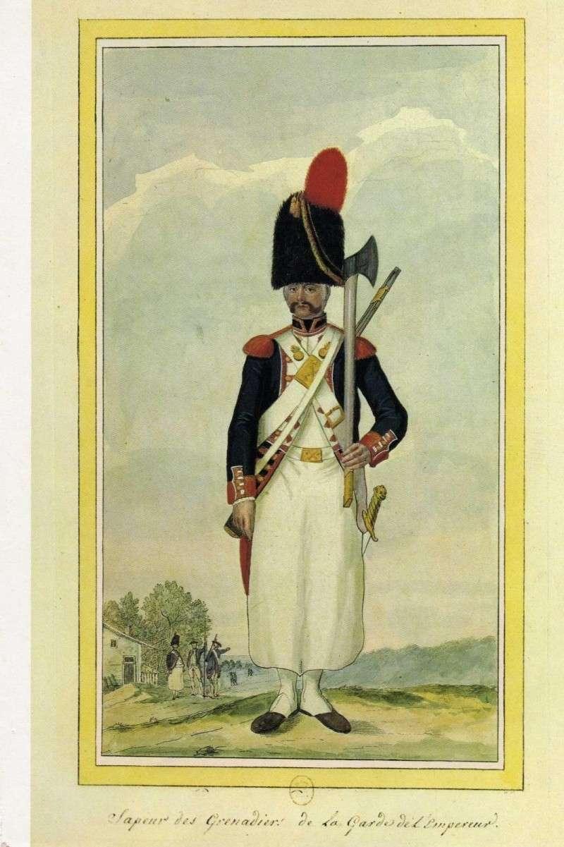 Sapeur des chasseurs de la Garde MM Grenad11