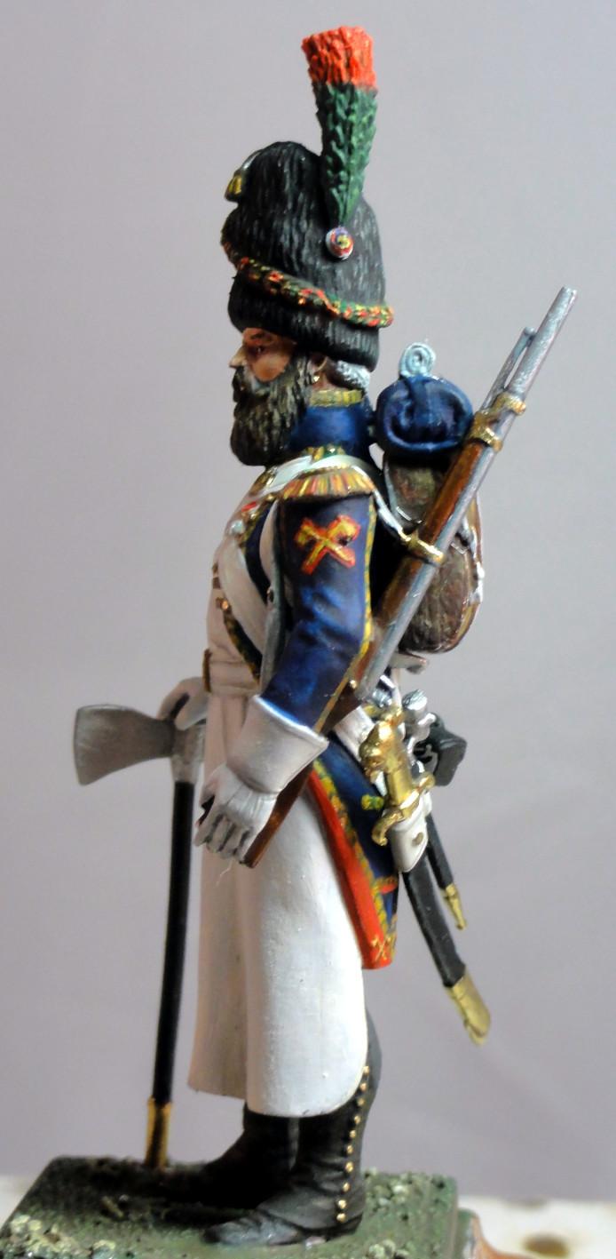Sapeur des chasseurs de la Garde MM Sapeur11